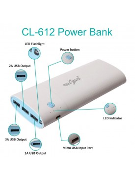 Callmate 20000 mAh CL-612 Power Bank