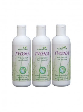 Ivona Anti Dandruff Hair Cleanser Pack Of 3
