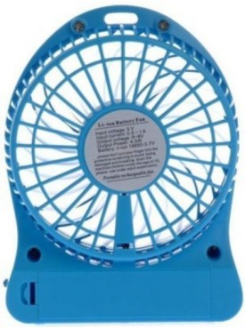 APG Mini Portable Super Fast Mini Portable, Battery Operated Powerful Rechargeable USB Fan