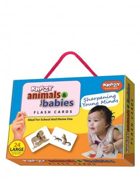 Animal their Babies Flash Cards
