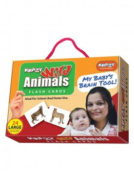 Wild Animals Flash Cards