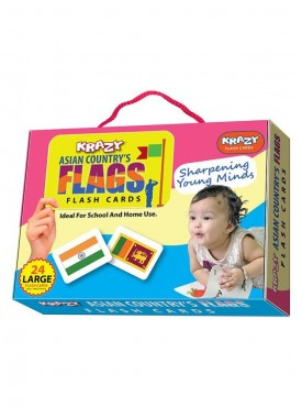 Asian Ciountry Falgs Flash Cards