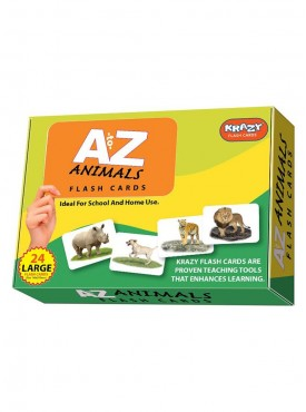 Ato Z Animals Flash Cards