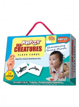 Sea creatures Flash Cards With Ring