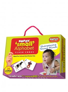 Small Alphabets Flash Cards With ring