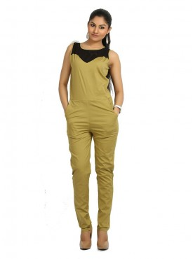 Green Jump Suit