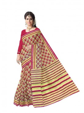 Fab Rajasthan Beautiful Printed cotton Saree