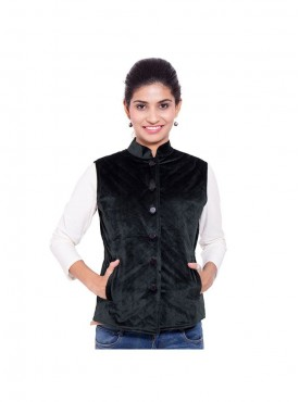 Bottle Green Quilted Jacket