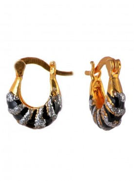 Exquisite Black Stylish Earrings