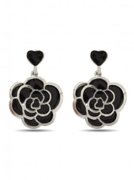 Majesty Black Stylish Earrings