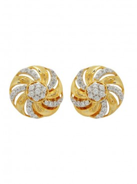 Mesmerizing Golden Stylish Earrings