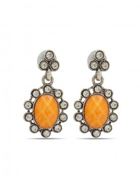 Ethnic Silver Stylish Earrings