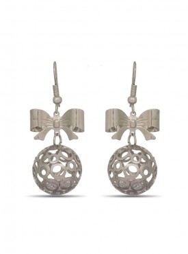 Adorable Silver Stylish Earrings