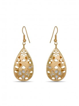 Charming Golden Stylish Earrings