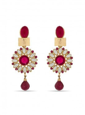 Ethnic Golden Stylish Earrings