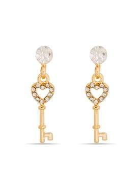 Exquisite Golden Stylish Earrings