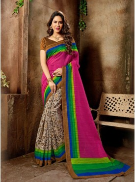 Admirable Multi Color  Designer Saree