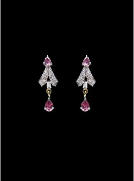 Charming Silver Stylish Earrings