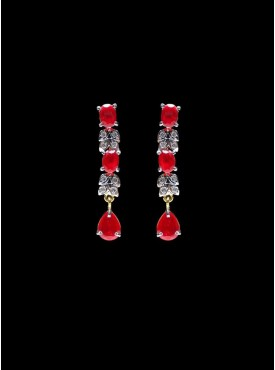 Adorable Red Stylish Earrings