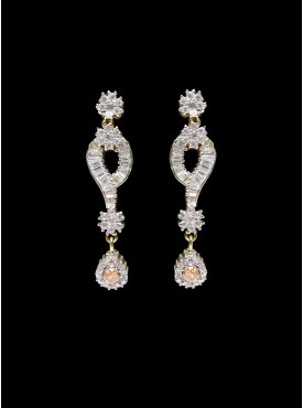Exquisite Silver Stylish Earrings