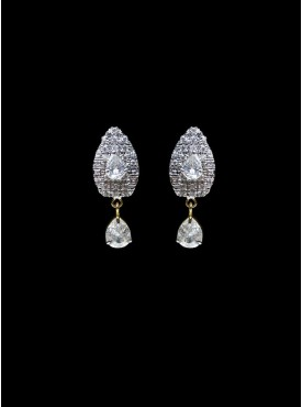 Mesmerizing Silver Stylish Earrings