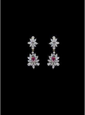 Majesty Silver Stylish Earrings