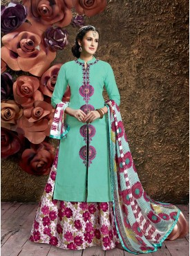 Ethnic Color Designer Kurti Skirt