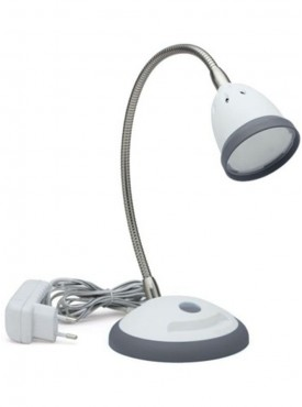 Renata LED Desk Light - Illumina - Cool White Light-Gray