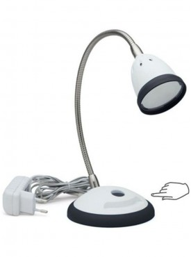 Renata LED Desk Light - Illumina- Touch Dimer - Cool White Light-Black