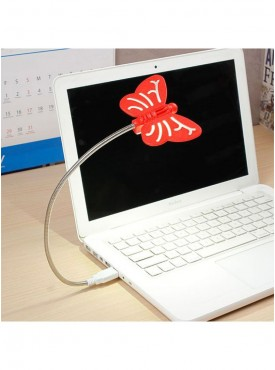 Renata LED Flyte USB - Cool White Light - Red