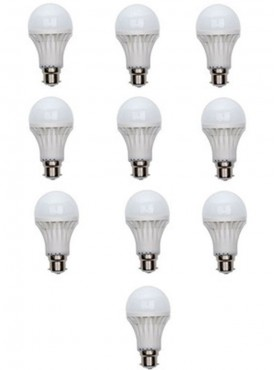 3 WATT LED BULBS  (SET OF 10)