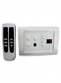 Apex Total Remote Controlled Switch Board For 3 Lights 1 Fan