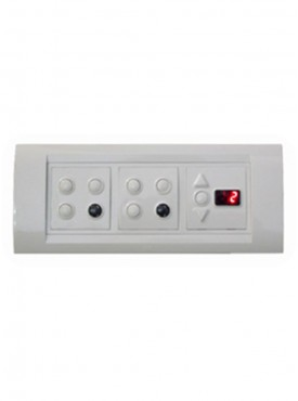 Apex Total Remote Controlled Switch Board For 6 Lights 1 Fan