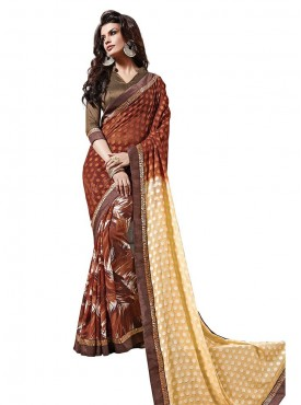 Multi Georgette Saree