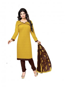 Yellow Color Suit