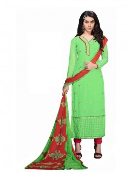 Parrot Green Color Suit