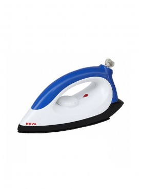 NOVA N-113 Electrical Iron White and Blue