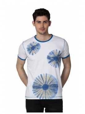 Men T-shirts White Color Cotton