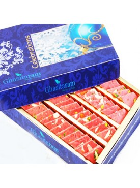 Ghasitaram Strawberry Katli