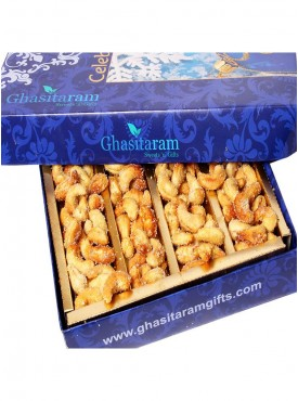 Ghasitarams Dryfruits Honey Coated Roasted Cashews