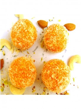 Mango Coconut Laddoo