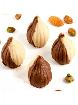 Ghasitaram Sugarfree Chocolate Twin Mawa Modaks