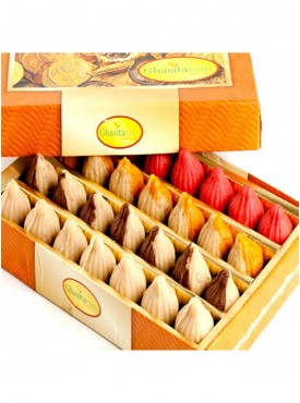 Ghasitaram Sugarfree Pure Kaju Assorted Modaks