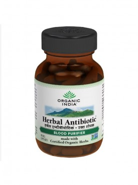 Herbal Antibiotic 60 Capsules Bottle
