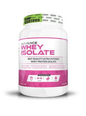 Advance Nutratech Advance Whey Isolate Protein Powder 1Kg Vanilla