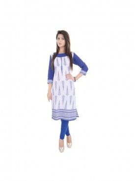 Crazora Casual Printed Women Kurti