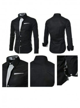 Black Party Ware Shirt