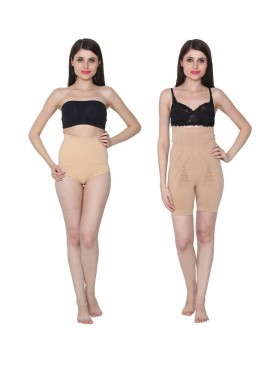 Ansh Fashion Wear Tummy & Body Shaper Pack Of 2