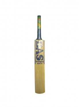 Bas Vampire Gold Cricket Bat, Long Handle