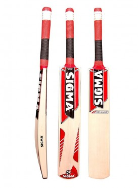 "Sigma "" The Achiever"" Size 5 Kashmir Willow Cricket Bat"